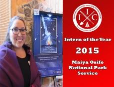 Intern of the Year 2015